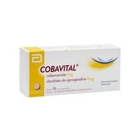 Cobavital 1mg + 4mg, caixa contendo 16 microcomprimidos