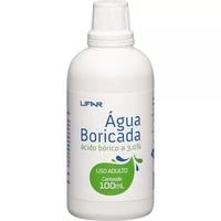 Água Boricada 3% - Lifar Frasco com 100mL de solução de uso dermatológico