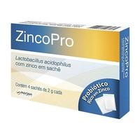 ZincoPro Sachê Caixa com 4 sachês com 2g de solução de uso oral