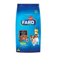 Ração para Cães Faro Adultos Raças Pequenas cozido de carnes e cereais, 1Kg