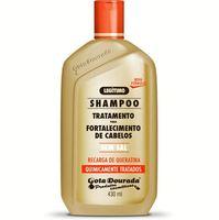 Shampoo Gota Dourada Fortalecimento Quimicamente Tratados 430mL