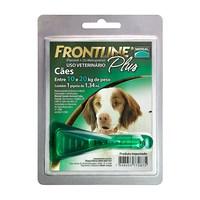 Frontline Plus para Cães 10Kg a 20Kg , pipeta com 1,34mL