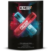 Lubrificante íntimo K-Med Fire & Ice - 2 com 40g
