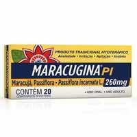 Maracugina PI 260mg, caixa com 20 comprimidos revestidos