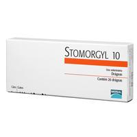 Stomorgyl caixa com 20 comprimidos de 10mg