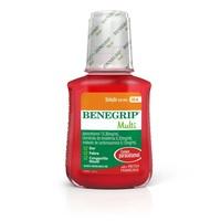 Benegrip Multi 13,30mg + 0,33mg + 0,13mg, caixa com 1 frasco com 240mL de solução de uso oral