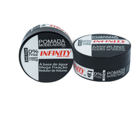 Pomada Modeladora Infinity Looks Hair Anti Frizz - preto, 150g