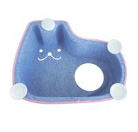 Cama Suspensa de Janela para Gatos Petlon sorriso azul