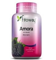 Amora Fitoway 500mg, frasco com 60 cápsulas