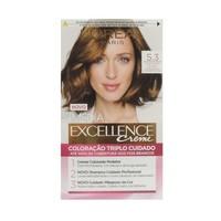 Tintura L'Oréal Imédia Excellence Creme nº 5.3 castanho claro dourado