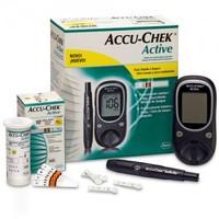 Kit Medidor de Glicose Accu-Chek Active