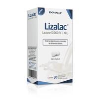 Lizalac Comprimido 10000FCC, caixa com 30 comprimidos dispersíveis