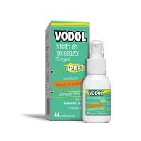 Vodol 20mg/mL, frasco spray com 60mL de suspensão de uso dermatológico