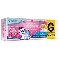 Nistatina + Óxido de Zinco Germed Pharma 100.000UI/g + 200mg/g, caixa com 1 bisnaga com 60g de pomada de uso dermatológico