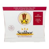 Coleira Scalibor pequeno e médio porte