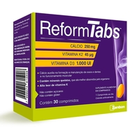 Reform Tabs Zambon caixa com 30 comprimidos