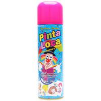 Tinta Spray Aspa Pinta Loca rosa com 150mL