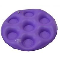 Almofada de Assento Bioflorence inflável, redonda, caixa de ovo