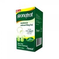 Bronqtrat 30mg/5mL, caixa com 1 frasco com 100mL de xarope + copo medidor, sabor limão mentolado