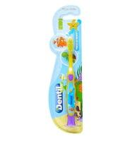 Escova Dental Dentil Kids 4+ anos, peixinho, extramacia com 1 unidade