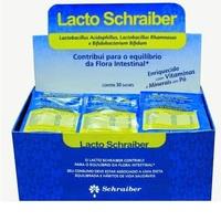 Lacto Schraiber Caixa com 30 sachês de 7g de pó para solução oral