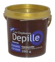 Cera Depilatória Corporal Depille camomila com 300g