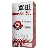 Oxcell 500mg, caixa com 30 cápsulas gelatinosas