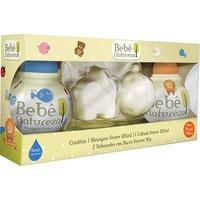 shampoo, 200mL + colônia, 200mL + grátis, sabonete, barra, 50g, 2 unidades