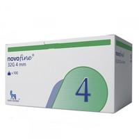 Agulha para Caneta Aplicadora de Insulina Novofine 32G, 4mm caixa com 100 unidades