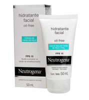 Hidratante Facial Neutrogena Oil-Free FPS 15 50mL