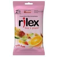 Preservativo Rilex tutti-frutti com 3 unidades