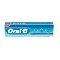 Creme Dental Oral-B 1-2-3 - 1 unidade com 70g