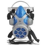 Respirador Semi Facial Alltec Mastt 2401 P2 - uma via, tamanho único