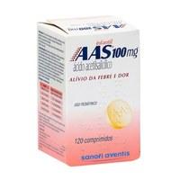 AAS Infantil 100mg, caixa com 120 comprimidos