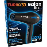 Secador de Cabelo Salon Line Turbo 3D