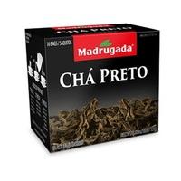 Chá Madrugada preto, 6 caixas de 10 sachês cada