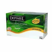 Cera Depilatória Corporal Depimiel vegetal, pote com 1Kg
