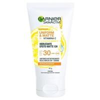 Hidratante Facial Garnier SkinActive Uniform & Matte Vitamina C FPS 30, 40g