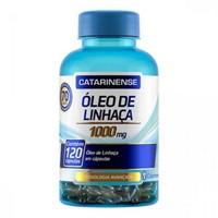 Óleo de Linhaça Catarinense - frasco com 120 Cápsulas