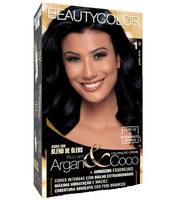 Tintura Beauty Color nº 1.0 preto ônix