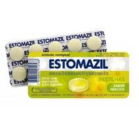 blíster com 10 pastilhas mastigáveis, abacaxi
