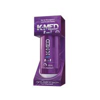Lubrificante íntimo K-Med 2 em 1 - 1 unidade com 200mL