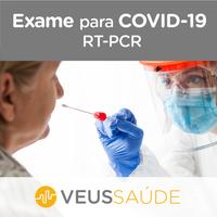Teste COVID-19 Veus Coleta a Domicílio RT- PCR