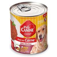 Ração para Cães Pró Canine Patê adulto, frango, lata, 280g