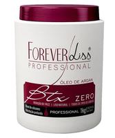 Botox Capilar Forever Liss BTX Zero Óleo de Argan 1Kg