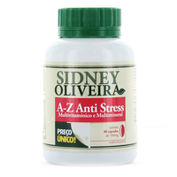 A-Z Anti Stress   Sidney Oliveira 30 Cápsulas