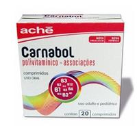 caixa contendo 20 comprimidos