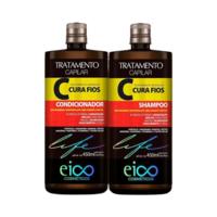 Kit Tratamento Intenso Cura Fios shampoo com 450mL + condicionador com 450mL
