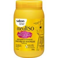 Máscara de Maionese Capilar Salon Line Meu Liso #MuitoMaisLiso 500g