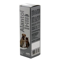 Alantol bisnaga com 25g de creme de uso tópico veterinário